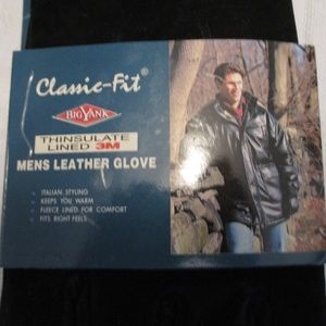 Big Yank Thinsulate Mens Leather Gloves- Size L/XL